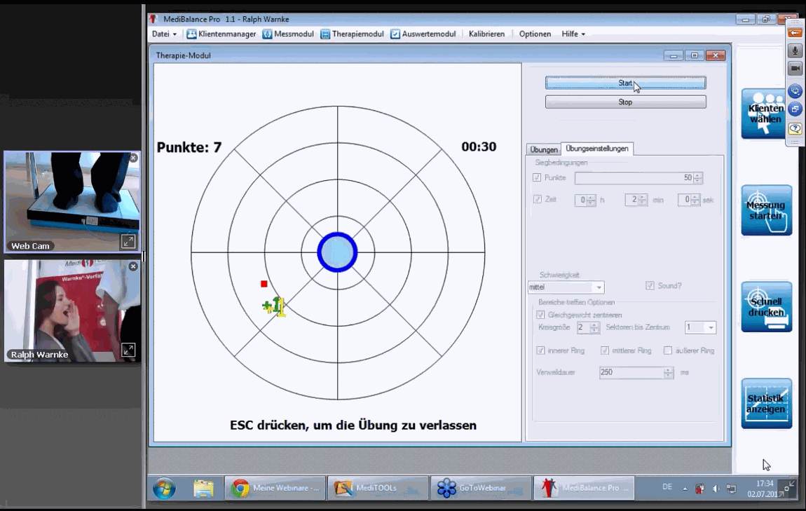 MediBalance Pro - Software Screenshot