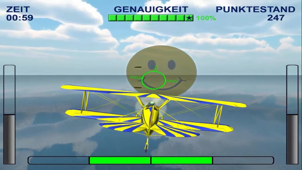 ZUKOR Air Feedbackspiel - Flugaction 1