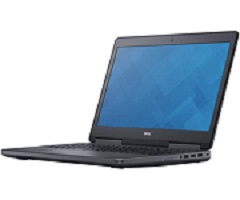 Dell Precision 7520 Notebook mit 512GB SSD, Eyetracking