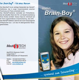 "[S023-DE] Flyer ""Mein Brain-Boy"